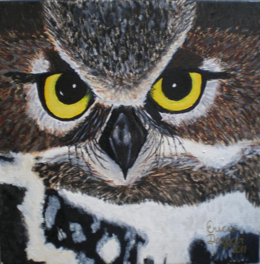 Owl by Erica Dagar