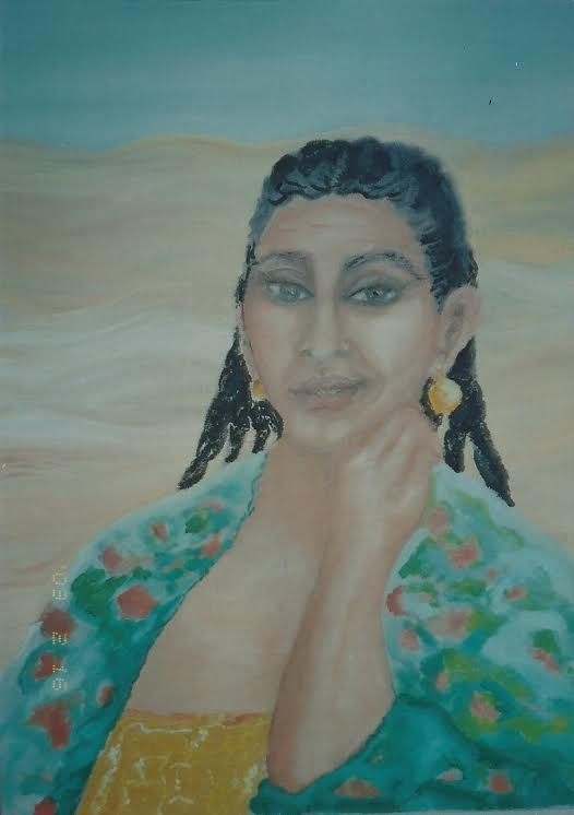 Desert Woman by Gabrielle Anderson (Teacher)